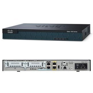 Cisco 1921 SEC T1 Bundle - Router - DSU/CSU - GigE - rack-mountable (CISCO1921-T1SEC/K9) *