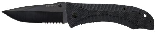 Coast DX350 Double Lock Folding Knife 3.5-Inch Blade