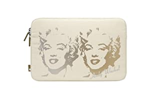 """Incase Andy Warhol Coated Canvas Sleeve -Marilyn Reversal Cream for MacBook Air 11"""" CL60016"""