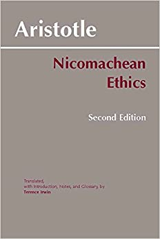 aristotle nicomachean ethics The nicomachean ethics by aristotle is the most influential book of the moral philosophy from kant to john rawls, all philosophers have discussed the issue with.