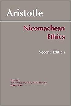 nicomachean ethics book 1 essay