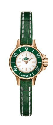 Lacoste 2000557 Women's Bilboa Green Leather Strap Watch