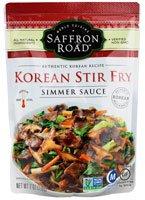 Saffron Road Gluten Free Simmer Sauce Korean Stir Fry -- 7 Oz