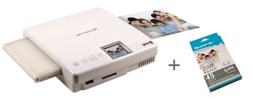Review Pandigital PANPRINT01 Zero Ink Portable Color Photo Printer Bundle with 45 sheets 4X6 ZINK ph...