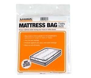 Uhaul Mattress Bag Protector Twin 87 X 39 X 10 Home Kitchen