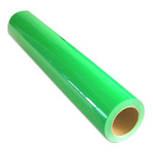 Cad-Cut Neon Green Heat Transfer Materials For Vinyl Cutters 20'' X 1Yd front-1019438