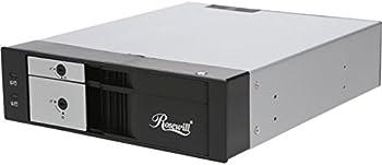 Rosewill RXC525-2B 2-Port Hard Drive Rack