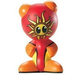 U.B. Funkeys Funkiki Island Figure - Red - RARE Version