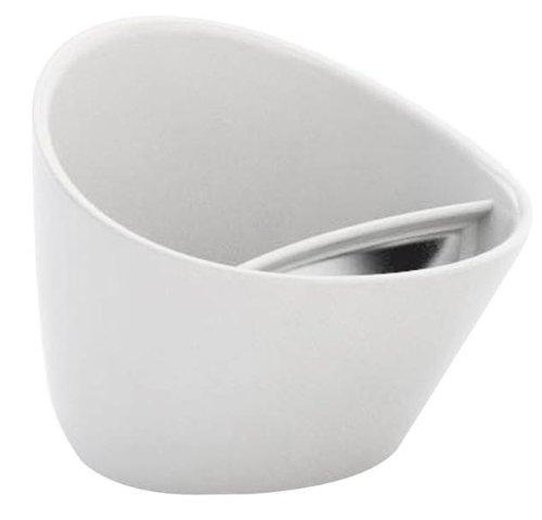 Magisso 70202 Tasse à Thé Plastique Alimentaire Blanc 12 x 12 x 10 cm