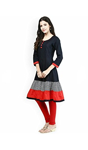 Jashvi-Creation-Womens-Semi-Stitched-Georgette-Cream-Dress-With-Red-Flowers