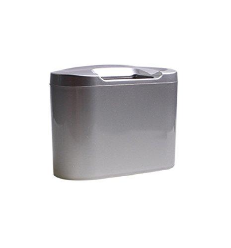 yistu mini fahrzeug auto staub kartonhalter box bin m ll m lleimer silber. Black Bedroom Furniture Sets. Home Design Ideas