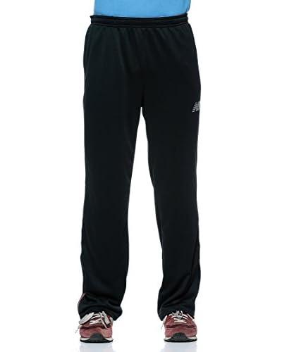 New Balance Pantalone Teamelite [Nero/Rosso]