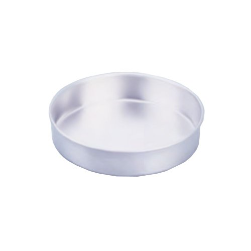 Vollrath 5347 Aluminum Wear-Ever Smooth-Sided Layer Natural Cake Pan, 2 by 9-Inch