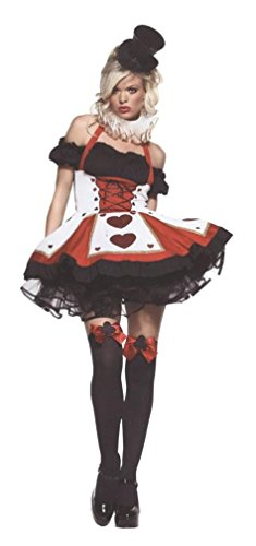 Pretty Playing Card Costume - X-Large - Dress Size 14-16