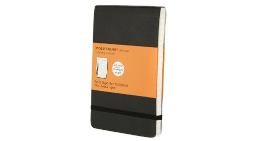Moleskine Ruled Soft Reporter Notebook Pocket