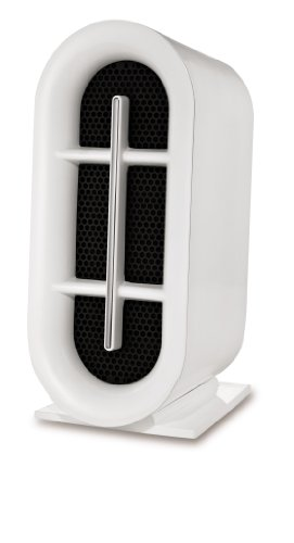 Claritin CAP529-U True HEPA Permanent Filter Tower Air Purifier, 20-Inch, White