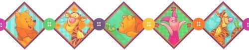 """Winnie the Pooh Self-Stick Border (5"""" X 15') - 1"""