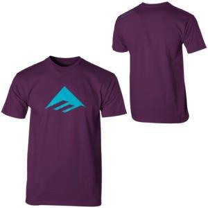 EMERICA T-Shirt TRIANGLE 7.0 S/S purple (hell) XS
