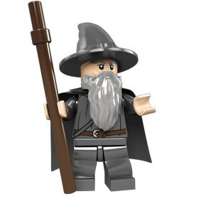 Lego Lord of the Rings Minifigure: Gandalf - 1