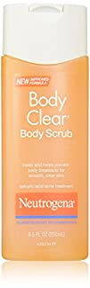 Neutrogena Body Clear Body Scrub for Smooth Clear Skin 8.5