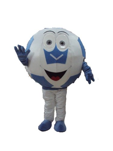 New Soccer Ball Mascot Costume Fancy Dress Christmas Costume Halloween Costume
