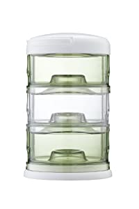Innobaby Packin' Smart Three Tier Storage System, Green/Clear