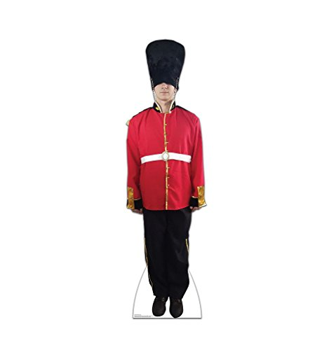 British Royal Guard - Advanced Graphics Life Size Cardboard Standup (British London Decorations compare prices)