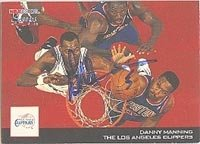 Danny Manning Los Angeles Clippers 1994 Hoops Autographed Hand Signed Trading Card -... by Hall of Fame Memorabilia
