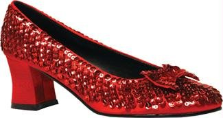 Shoe Sequin Rd Womens Large Accessory