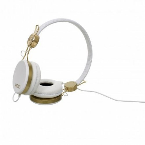 Wesc Banjo Golden Headphones (white)