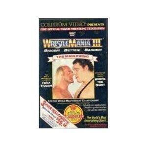Wrestlemania III [VHS]