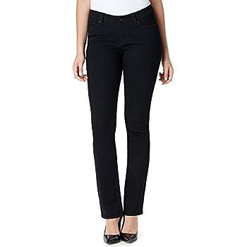 Vintage America Womens Boho Straight Leg Jeans
