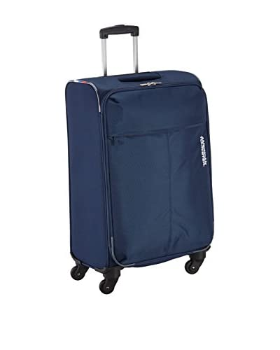 American Tourister Trolley semirrígido AT Toulouse 2.0 Spinner Azul Marino 66 cm