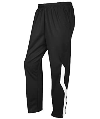 Russell Athletic Men's Dri-Power Pant - Black/White - XXL