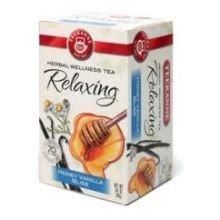 Teekanne Honey Vanilla Bliss Tea - 20 Per Pack -- 6 Packs Per Case.