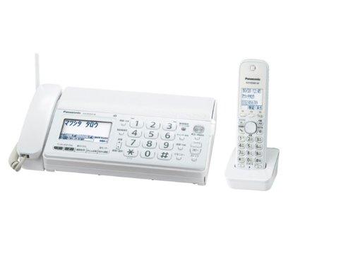 Panasonic デジタルコードレス普通紙ファクス ホワイト 子機1台付き (A4送信/A4受信) KX-PD301DL-W