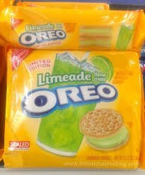 Limited Edition Limeade Oreo Cookies 12.2 Oz.