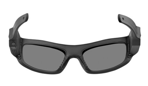 Pivothead 1080 HD 8MP Video Recording Camera Polarized Hand-Free Sunglasses, Durango Smoke