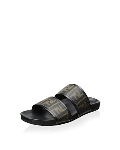 Fendi Men's Casual Slip-On Sandal