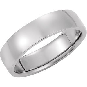 Genuine IceCarats Designer Jewelry Gift Sterling Silver & 14K White Gold Wedding Band Ring Ring. Size 09.00 Precious Bond Domed Band In Sterling Silver & 14K Whitegold Size 9