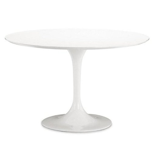 Antique White Vanity Table front-959216