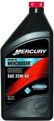 Genuine Mercury 1 Quart 25W40 - 8M0078627