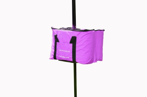 Morshade Canopy Cooler Shade Canopy Weight and Cooler All In One, Purple, CC100PUR