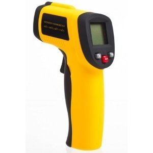 BAFX Products (TM) - Non Contact - Infrared (IR) Thermometer (-58F - +1,022F) - W/ Pointer Sight - BATTERY INCLUDED