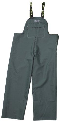 Dutch Harbor Gear Men's Quinault Rain Bib, Green, Small (Dutch Harbor Rain Gear compare prices)