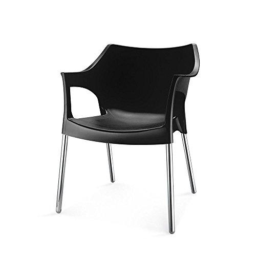 Nilkamal Novella Series 10 Chair (Black)