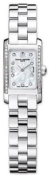 Baume   Mercier Womens 8681 Hampton Mini Diamond Watch