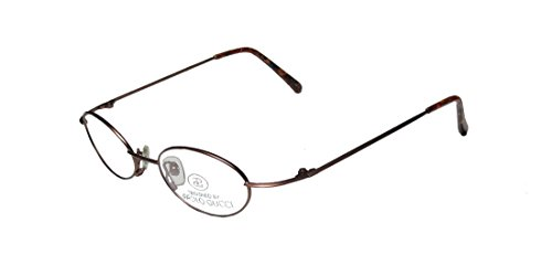 New & Season & Genuine - Brand: Paolo Gucci Style/model: 7428r Gender: Mens/Womens Rxable Affordable Oval Full-rim Eyeglasses/Eyeglass Frame (48-19-140, Matte Bronze) (Rb 3030 compare prices)