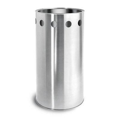 Blomus Stainless Steel Umbrella Stand (H50cm x 25cm Diameter)
