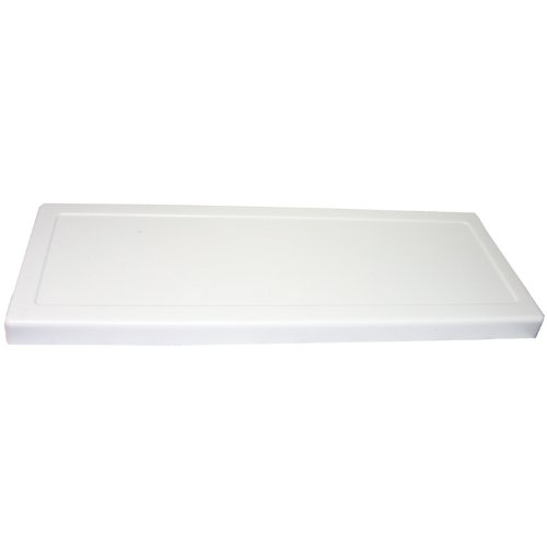 LASCO 14-1010 Universal Fit Most Toilet Tank Lid for 21 1/8-Inch x 7 3/4-Inch or Less Toilets, White Plastic (Lid For Toilet Tank compare prices)